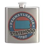 Pennsylvania Statehood Flask