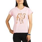 Stylized Camel Performance Dry T-Shirt