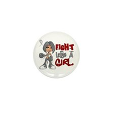 FLAG 42.8 Brain Cancer Mini Button (10 pack)