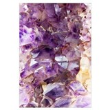 Amethyst crystals