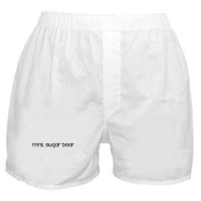 Mrs. Sugar Bear Boxer Shorts