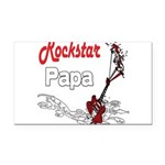 Rockstar papa copy.png Rectangle Car Magnet
