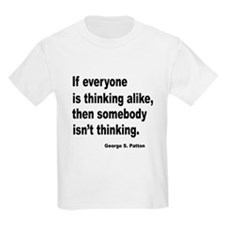 Somebody Isn't Thinking Kids T-Shirt