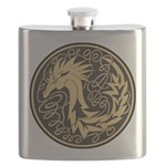 Celtic Unicorn Flask