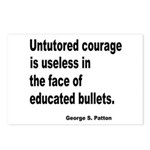 Untutored Courage is Useless Postcards (Package of