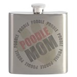 Poodle Mom Flask