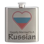 Happily Married Russian Flask