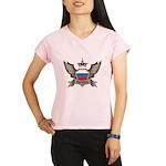 Russia Emblem Performance Dry T-Shirt