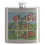 Strawberry Puzzle Flask