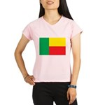 Benin Flag Performance Dry T-Shirt