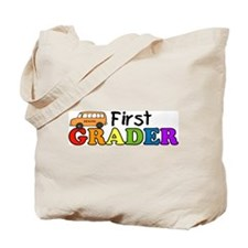 First Grader Tote Bag
