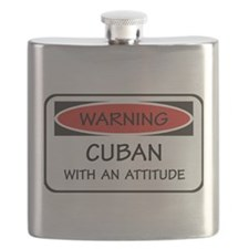 Attitude Cuban Flask