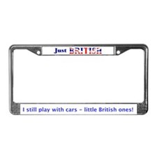 Just British License Plate Frame