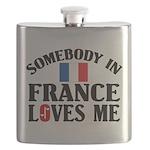 Somebody In France Flask