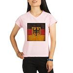 Vintage Germany Flag Performance Dry T-Shirt
