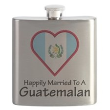 Happily Married Guatemalan Flask