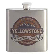 Yellowstone Vibrant Flask
