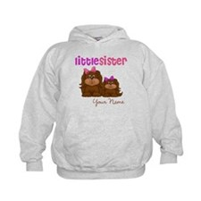 Little Sister Puppies Hoodie