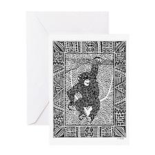 Chimp #2 Greeting Card