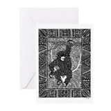 Chimp #2 Greeting Cards (Pk of 20)
