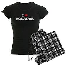 I Love Ecuador Pajamas