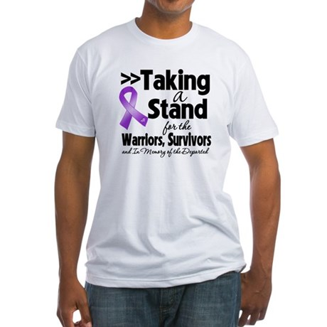 Stand Leiomyosarcoma Fitted T-Shirt