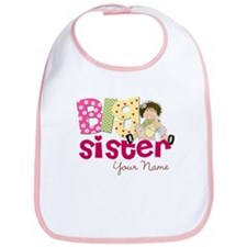 Big Sister Brunette Bib