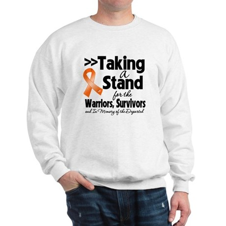 Stand Kidney Cancer Sweatshirt