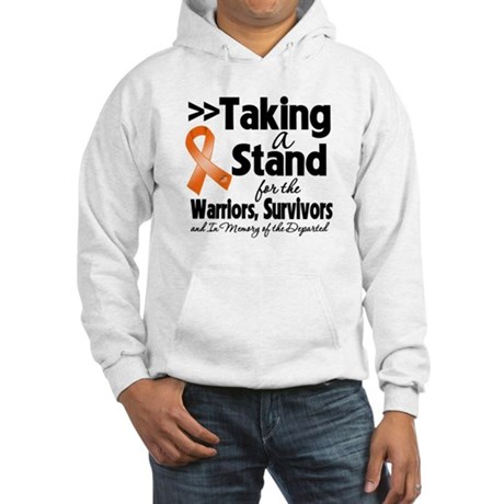 Stand Kidney Cancer Hooded Sweatshirt