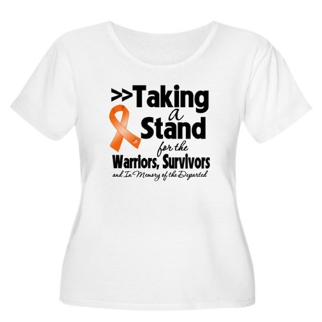 Stand Kidney Cancer Women's Plus Size Scoop Neck T