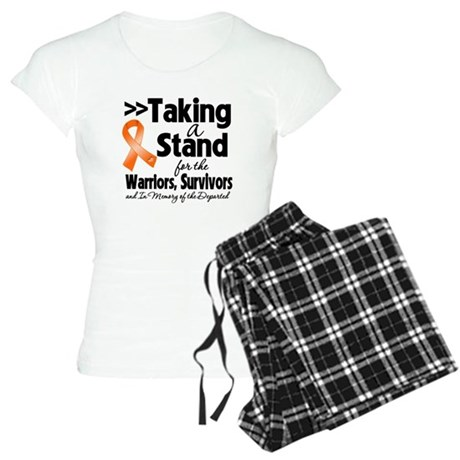 Stand Kidney Cancer Women's Light Pajamas