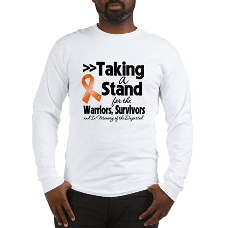 Stand Kidney Cancer Long Sleeve T-Shirt