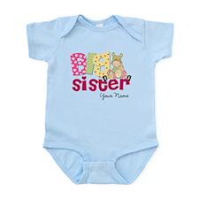 Big Sister Blond Infant Bodysuit