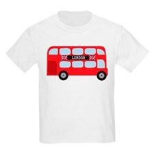 London Double-Decker Bus T-Shirt