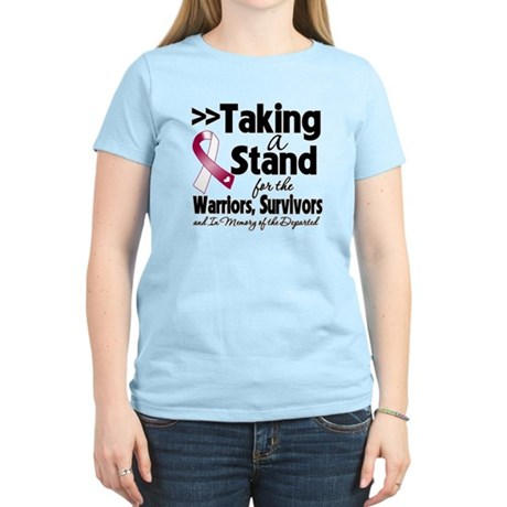 Stand Head Neck Cancer Women's Light T-Shirt