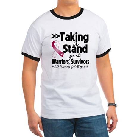 Stand Head Neck Cancer Ringer T
