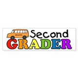 Second Grader Bumper Bumper Sticker
