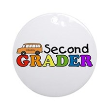 Second Grader Ornament (Round)