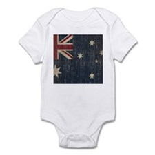 Vintage Australia Flag Infant Bodysuit