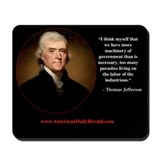 ADH Thomas Jefferson Mousepad