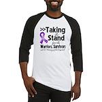 Stand GIST Cancer Baseball Jersey