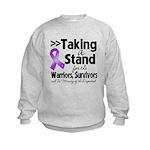 Stand GIST Cancer Kids Sweatshirt