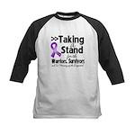 Stand GIST Cancer Kids Baseball Jersey