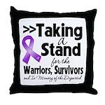 Stand GIST Cancer Throw Pillow