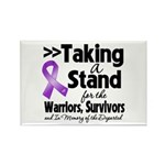 Stand GIST Cancer Rectangle Magnet