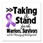 Stand GIST Cancer Square Car Magnet 3