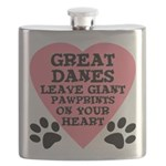 FIN-great-dane-giant-pawprints-heart.png Flask