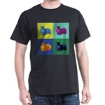 Pop Art Squirrel Dark T-Shirt