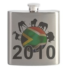 Cute 2010 world cup Flask