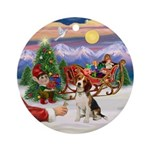 Treat for a Beagle Ornament (Round)